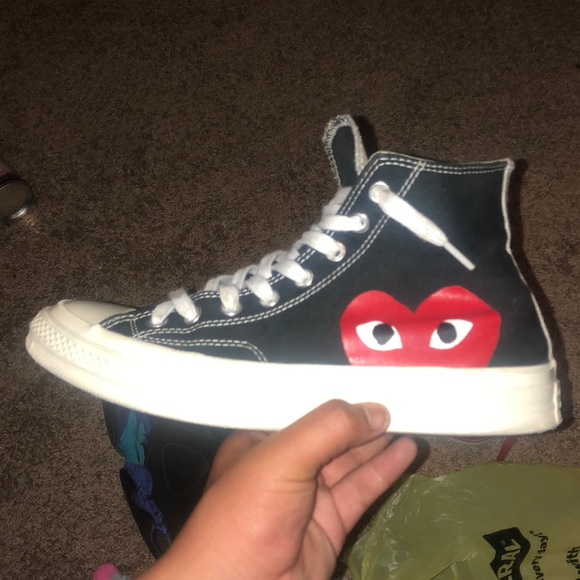 CDG play converse size 9 condition 9.5/10